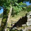 Cabaña en ruinas