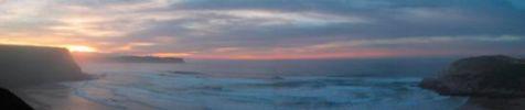 La playa de Los Locos, en Suances