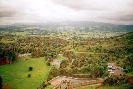 Una vista del Parque de Cab�rceno