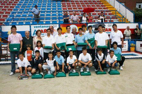 Grupo de ganadores - Martín Pelayo