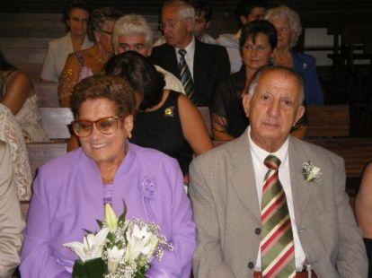 60 aniversario de casados