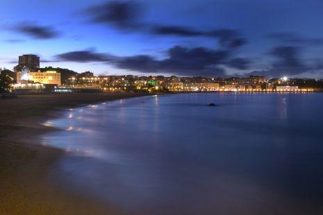 Playa de El Sardinero. /Foto: Andr�s Fern�ndez