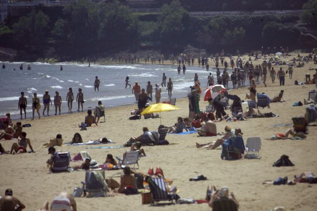 Playa de El Sardinero. Foto: SANE