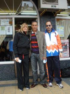 IRENE ALFONSO, ABASCAL Y CARLOS M. DEL BARRIO