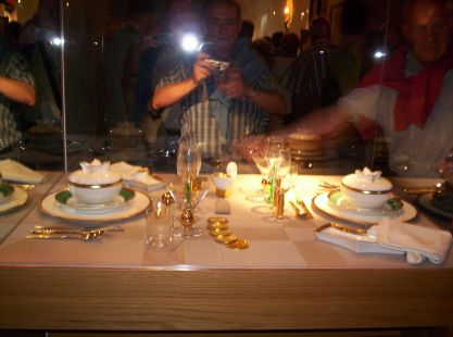 podia ser la mesa de nochebuena