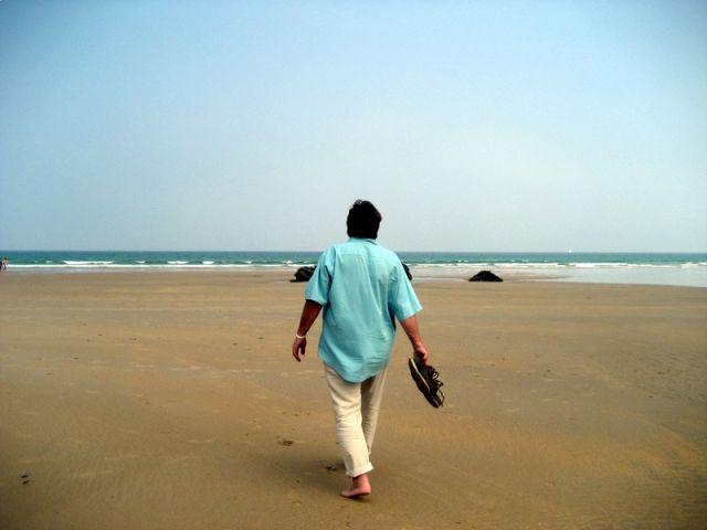 Paseando por la Playa de Merón