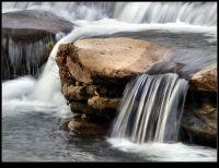 Texturas del agua en Los Llares