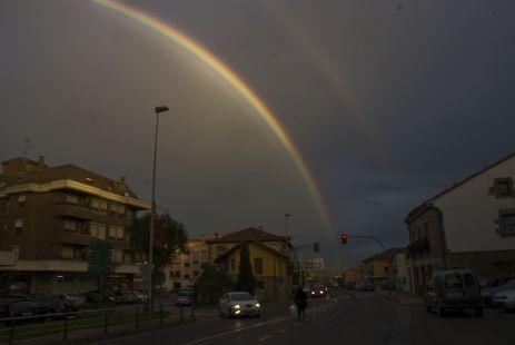 El arcoiris.