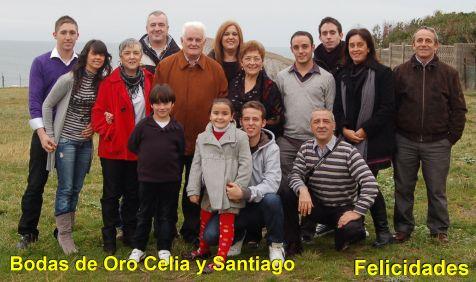Bodas de Oro Celia y Santiago