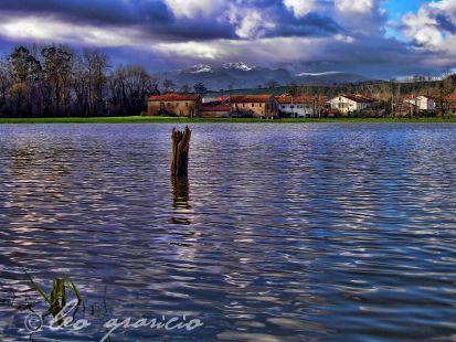 Inundacion en Hoznayo