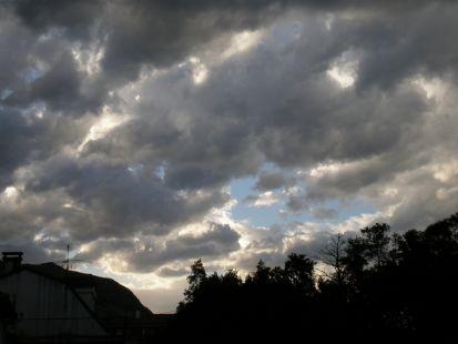 nubes antes de la tormenta