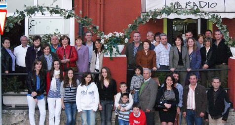 bodas de plata familia Fernández-Cosio