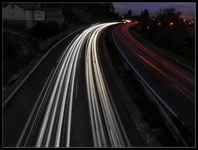 Trafico en la A67