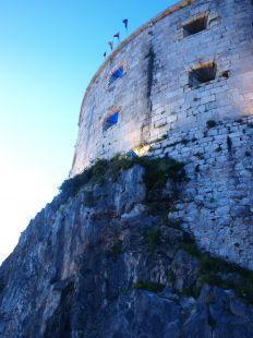Los colores del fuerte de San Martín