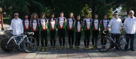 Presentación del Club Ciclista Meruelo