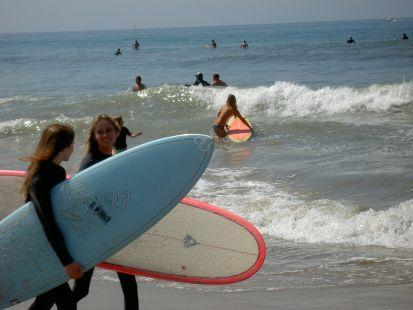 Surf en Malibú