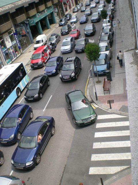 aparcamiento saturado