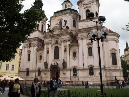 Praga: San Nicol�s de Star� Mesto.
