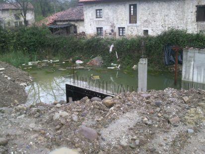 Inundación de excavación