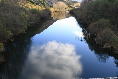 rio ebro por las mazorras