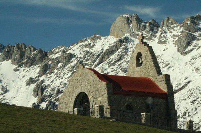 Ermita de La Virgen de la Salud, Aliva