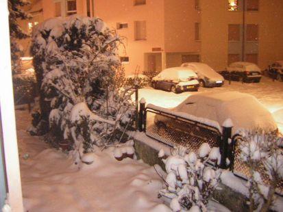 Navidad bajo la nieve, Estrasburgo