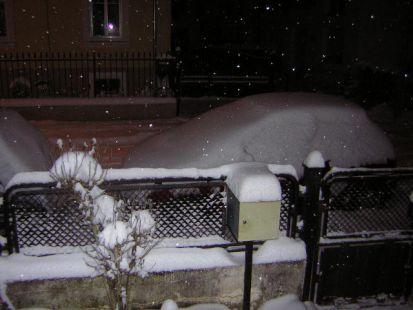 Noche de paz, noche de nieve