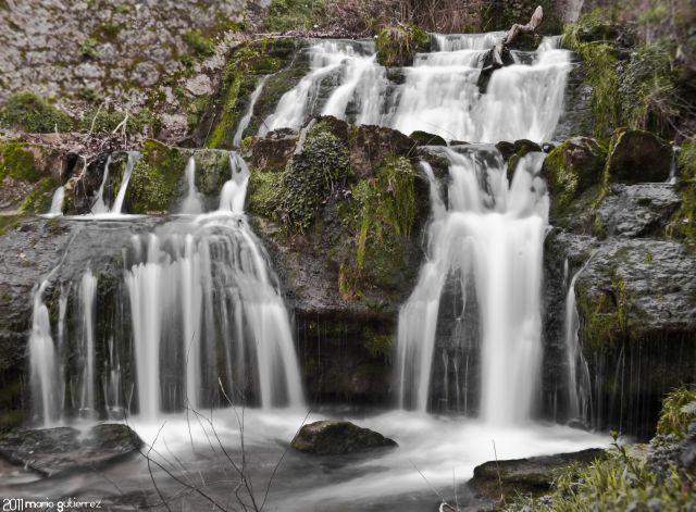 Cascada en La Cavada.