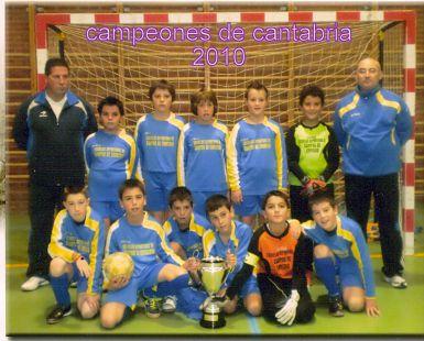 Campeones de Liga Alevines