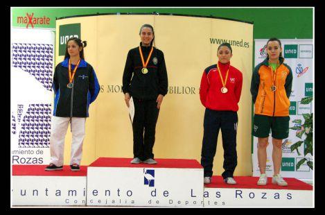 Bronce Campeonato España Universitario Karate 2011 Victoria Jimenez