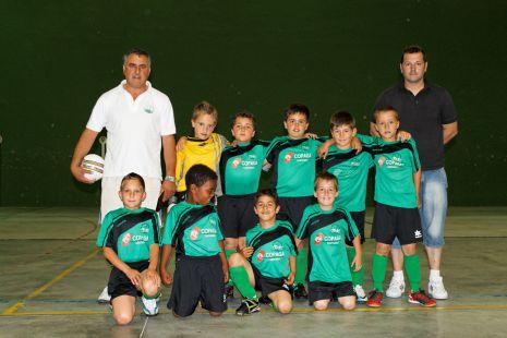 Campeones trofeo en Vigo