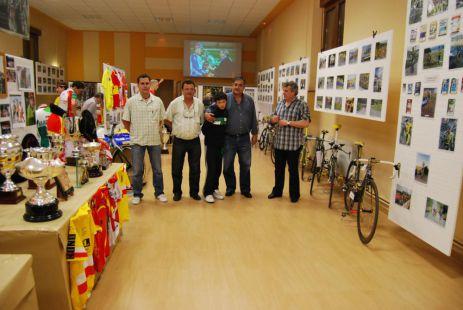 Inauguración de la exposición sobre la Vuelta al Besaya
