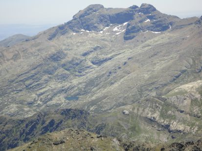 Vista del pico Curavacas desde P.Prieta.