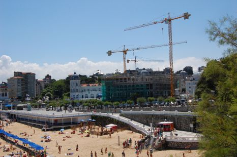 construccion hotel sardinero