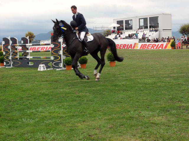 saltos de caballo en santander