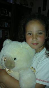 Alejandra cumple 8 añitos
