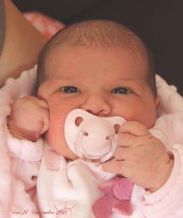 Mi nieta Vera, nacida el 24 de septiembre de 2011