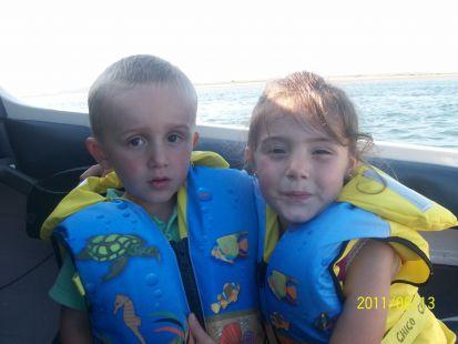 Eva y MIguel en el barco