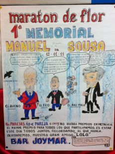 MARATON DE FLOR   1º MEMORIAL MANUEL SOUSA