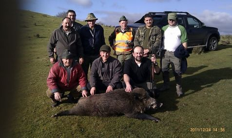 Un dia de caza  24/12/2011
