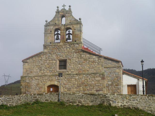 Iglesia de Lantueno(ayuntamiento de Santiurde de Reinosa)