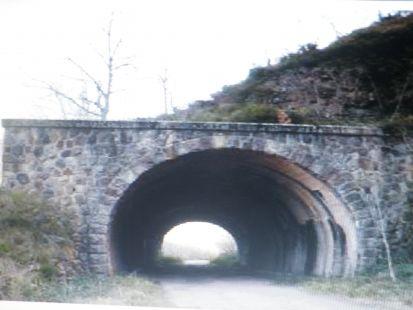 Apeadero hacia Túnel Engaña