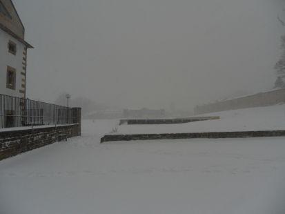 Nieve en Febrero 020212