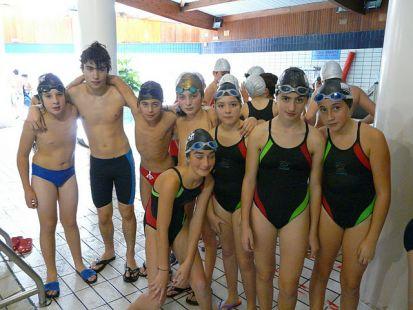 Nadadores alevnes EDM Torrelavega