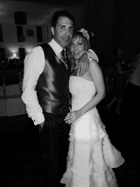 1� Aniversario: 30 de Abril. Rafa y Esther