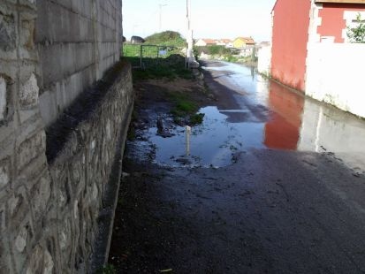Calle Tristana. Monte. Cinco a�os as�