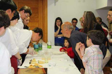 Taller de Cocina de Cantabria en el Albergue de Peregrinos de Potes