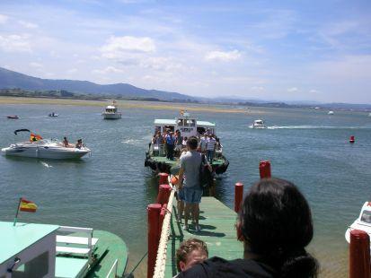 Desembarcadero del Puntal.