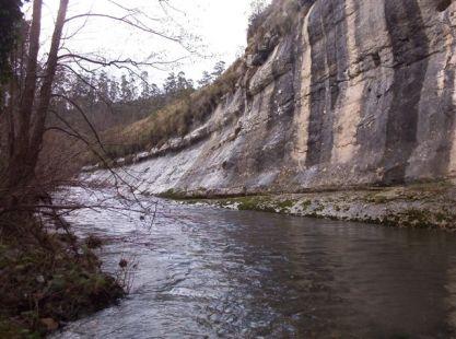 Rio Escudo al paso por El Barcenal