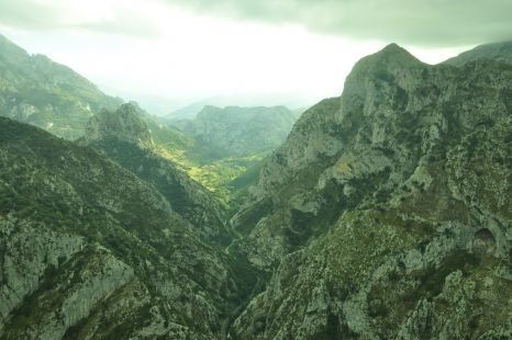 panoramica del desfiladero